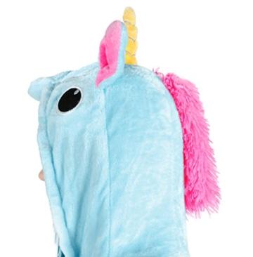 Iso Trade Einhorn Kostüm Tier Jumpsuits Einteiler Fasching Halloween Blau S M XL #4553, Größe:M - 7