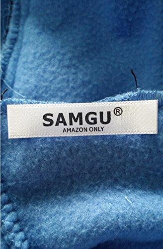 SAMGU Einhorn Adult Pyjama Cosplay Tier Onesie Body Nachtwäsche Kleid Overall Animal Sleepwear Erwachsene Größe M - 2