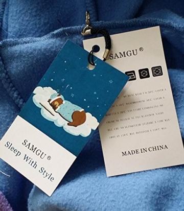 SAMGU Einhorn Adult Pyjama Cosplay Tier Onesie Body Nachtwäsche Kleid Overall Animal Sleepwear Erwachsene Größe M - 3