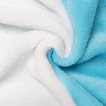 Très Chic Mailanda Einhorn Pyjamas Kostüm Jumpsuit -Karneval Cosplay Tier Schlafanzug Onesies Erwachsene Unisex Kigurumi (Large, Blau) - 6