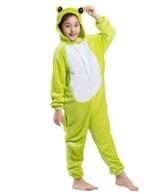 AKAAYUKO Kostüm Kinder Unisex Cosplay Jumpsuit Onesie Tier Frosch - 1