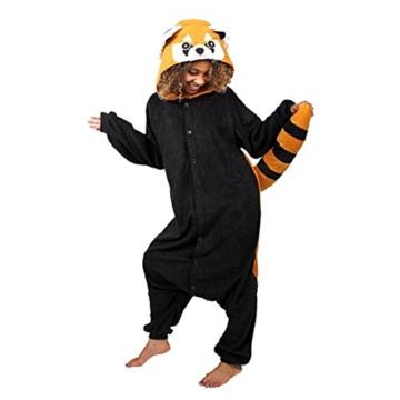 Roter Panda Jumpsuit Pferdemasken Braucht Die Welt