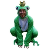 Frosch-König Kostüm, SY12/00 Gr. L-XL, Froschkönig-Kostüm Frosch-Kostüme Frösche Kostüme Frosch König Faschingskostüm, Fasching Karneval, Faschings-Kostüme Karnevals-Kostüme Märchen - 1