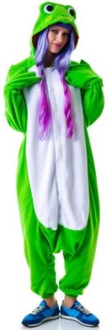 Frosch-Kostüm / Kigurumi Onesie Jumpsuit - 1