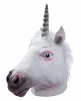 Horror-Shop Crazy Einhorn Maske als Tiermaske für Comic Fans - 1