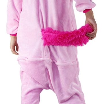 Unicorn Costume Adult Animal Jumpsuits Pajamas Animal Unicorn Jumpsuit Sleepwear Unisex Cosplay Costume for Women and Men - 5