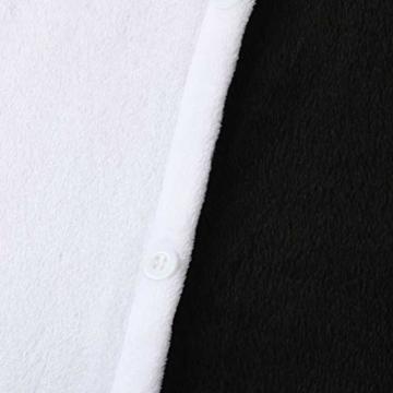 Katara 1744 Jumpsuit, Unisex– Erwachsene, Einhorn Schwarz, Körpergröße 145-155cm (S) - 7