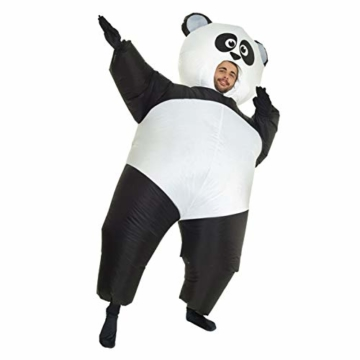 Morph Aufblasbares Pandabärkostüm, Verkleidung, Einheitsgröße - 2