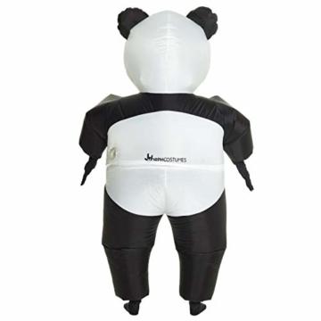 Morph Aufblasbares Pandabärkostüm, Verkleidung, Einheitsgröße - 5