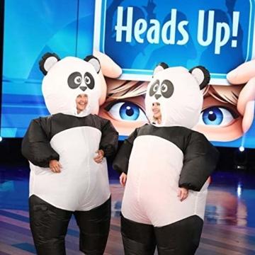 Morph Aufblasbares Pandabärkostüm, Verkleidung, Einheitsgröße - 6
