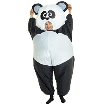Morph GIANT PANDA aufblasbar Kinder Kostüm–EINE Größe - 2