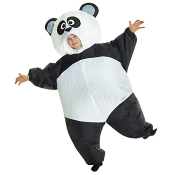 Morph GIANT PANDA aufblasbar Kinder Kostüm–EINE Größe - 3