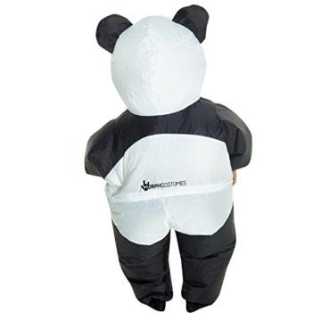 Morph GIANT PANDA aufblasbar Kinder Kostüm–EINE Größe - 7