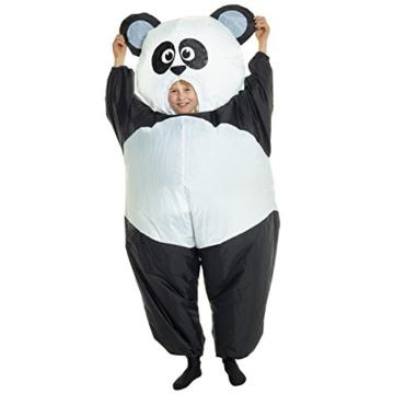 Morph GIANT PANDA aufblasbar Kinder Kostüm–EINE Größe - 8