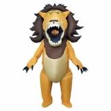 Morph Riesiges Aufblasbares Großmaul Lion Halloween-Tierkostüm für Erwachsene - 1