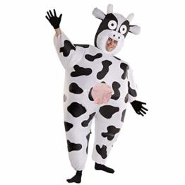 Morph Riesiges Aufblasbares Kuh-Halloween-Tierkostüm für Erwachsene - 1