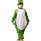 ABYED® Einhorn Kostüm Jumpsuit Onesie Tier Fasching Karneval Halloween kostüm damen mädchen herren kinder Unisex Cosplay Schlafanzug - 1