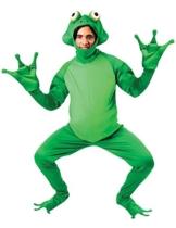 Frosch Kostüm Karneval Fasching Herren Verkleidung Mottoparty Standard - 1