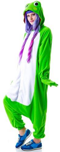 Frosch-Kostüm / Kigurumi Onesie Jumpsuit - 3