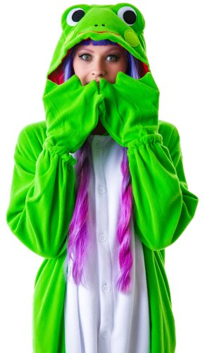 Frosch-Kostüm / Kigurumi Onesie Jumpsuit - 4