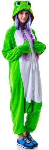 Frosch-Kostüm / Kigurumi Onesie Jumpsuit - 5