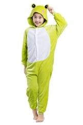 Kinder Kostüme Tier Tieroutfit Cosplay Jumpsuit Schlafanzug Frosch - 1
