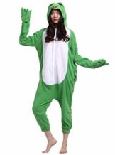ULEEMARK Jumpsuit Onesie Tier Karton Fasching Halloween Kostüm Sleepsuit Cosplay Overall Pyjama Schlafanzug Erwachsene Unisex Lounge Kigurumi Frosch for Höhe 140-187CM - 1