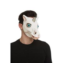 viving Kostüme viving costumes204685Einhorn Maske (One Size) - 1