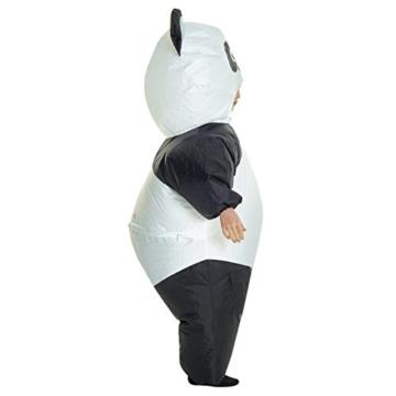 Morph GIANT PANDA aufblasbar Kinder Kostüm–EINE Größe - 4