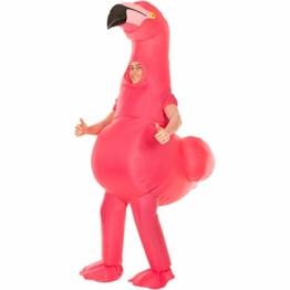 Morph Riesiges Aufblasbares Flamingo-Halloween-Tierkostüm für Erwachsene - 1