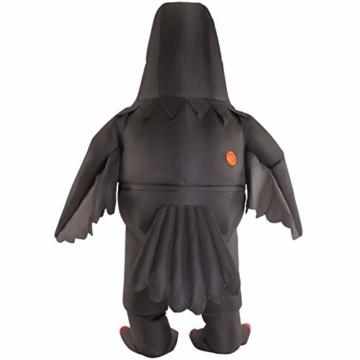 Morph Riesiges Aufblasbares Halloween-Tiervogel-Kostüm der Bösen Krähe für Erwachsene - 2