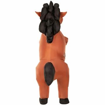 Morph Riesiges Aufblasbares Tänzelndes Pferde Halloween-Tierkostüm für Erwachsene - 3