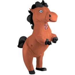 Morph Riesiges Aufblasbares Tänzelndes Pferde Halloween-Tierkostüm für Erwachsene - 1